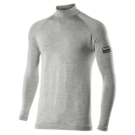Sixs TS3 Merinos long-sleeve mock turtleneck