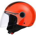 Airoh casco jet Malibu' Touch - Orange Gloss taglia XL
