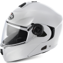 Airoh Rides Color flip up helmet - White Gloss