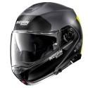 Nolan casco modulare N100-5 Plus Distinctive N-Com - 25 Flat Lava Grey