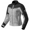 Rev'it lady jacket airwave 2 - Silver/black