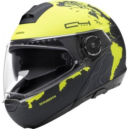 Schuberth C4 Pro flip up helmet - Fragment Red