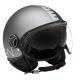 Momo Design casco jet Fgtr Evo - Joker Blue/ClearGrey