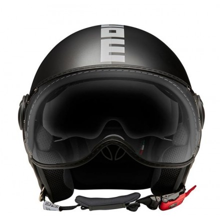 Momo Design casco jet Fgtr Evo - Joker Black/DarkGrey