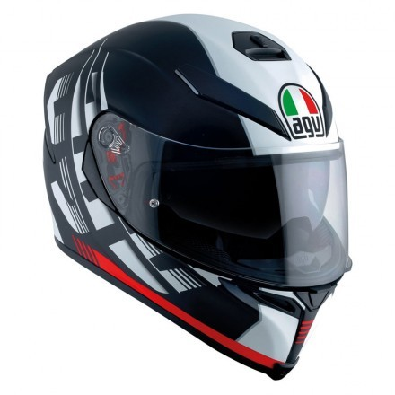 Agv casco integrale K-5 S Pinlock multi Hurricane 2.0 2020 - Black/Red