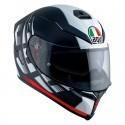 Agv casco integrale K-5 S Pinlock multi Darkstorm Matt 2020 - Black/Red taglia ML