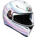 Agv K-3 Sv Pinlock Multi Sakura Pearl full face helmet 2020