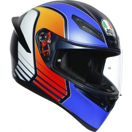 agv k1 multi wurmup helmet