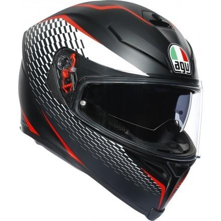 Agv K-5 S Pinlock multi Hurricane 2.0 full face helmet 2020 - Black/Red