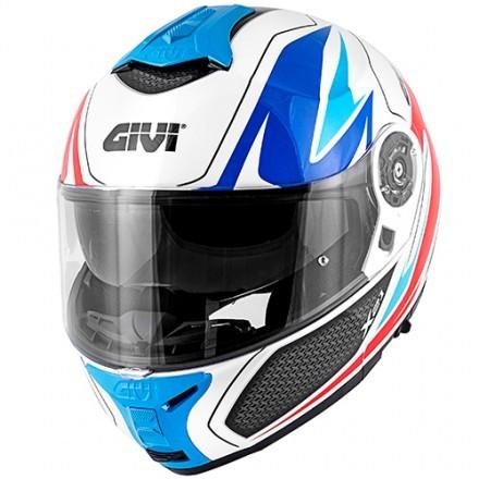 Givi X.21 Challenger Globe flip up helmet - MattBlack/Yellow