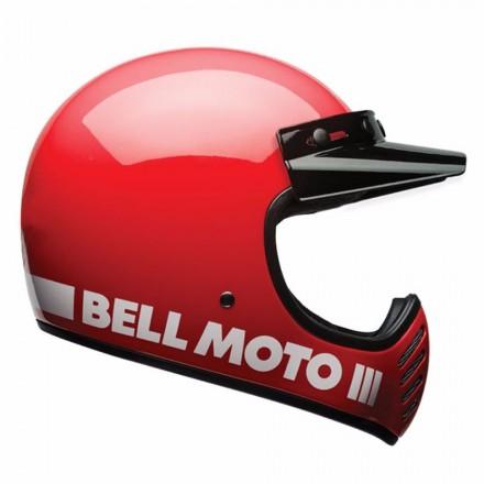 Bell casco integrale Moto-3 Classic - Classic white