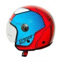 One Spiderman boys child jet helmet