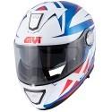 Givi casco modulare X.23 Sydney Pointed - BluLucido/Bianco/Rosso