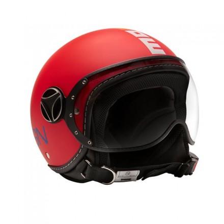 Momo Design casco jet bimbo Fgtr Baby - Pink Matt/Multi