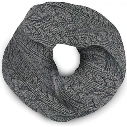 Tucano urbano collar sharpei - Dark gray melange braid