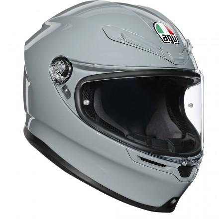 Agv casco integrale K6 Multi Rush - Black/Red