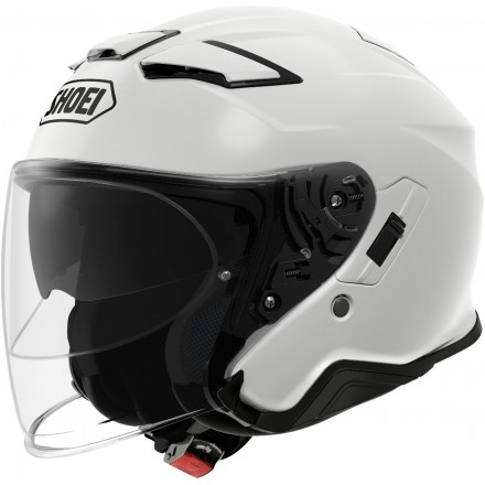 Shoei J-Cruise 2 jet helmet - Metal White