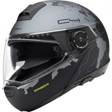 Schuberth C4 Pro flip up helmet - Magnitude Yellow