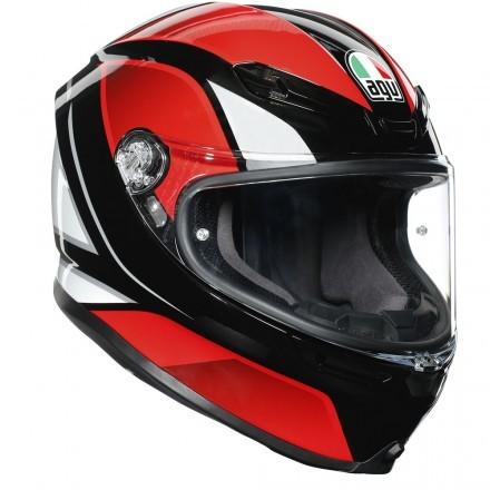 Agv casco integrale K6 Mono Nardo - Grey