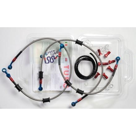 Frentubo kit tubi freno per Ducati Monster 620/695/750/800/1000 ie, M900 01-, MS4/S2/S2R/S4R