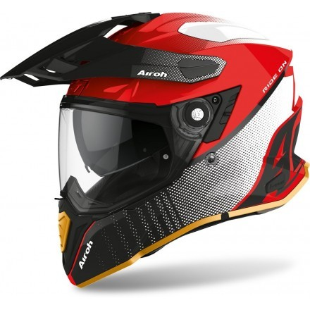 Airoh casco integrale Commander Progress - Blue/RedMatt