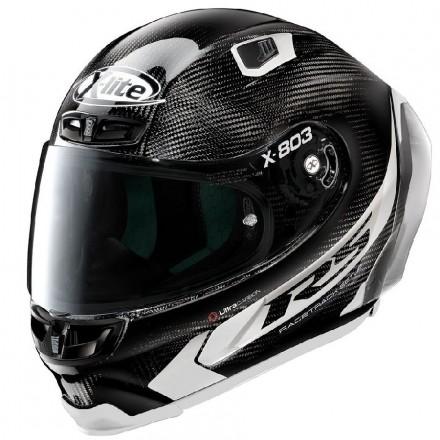 X-Lite X-803 RS Ultra Carbon - Hot Lap full face helmet 015 Black