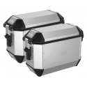 Givi coppia di valigie laterali Monokey® Trekker Alaska in alluminio 36lt.