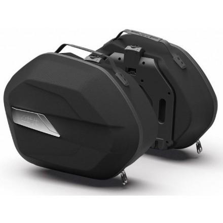 Givi coppia valigie laterali Monokey® WL900 Weightless 25 lt.