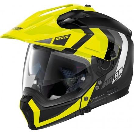 Nolan N70-2 X Decurio N-Com modular helmet - 29 Flat Black
