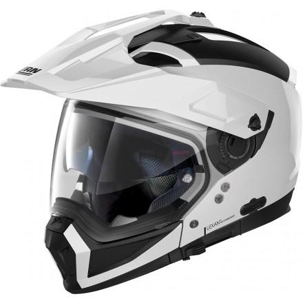 Nolan casco componibile N70-2 X Classic N-Com - 10 Flat Black
