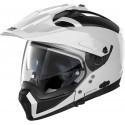 Nolan casco componibile N70-2 X Classic N-Com - 5 Metal White