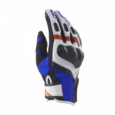 CLOVER ITALY R-9 RAPTOR CARBON LEATHER MESH VENTED SUMMER CITY MOTORCYCLE GLOVES