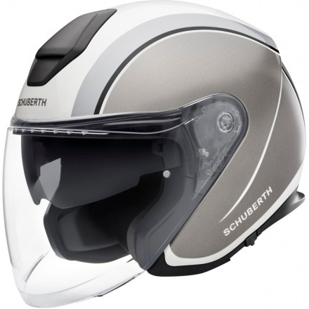 Schuberth M1 Pro jet helmet - Outline Grey