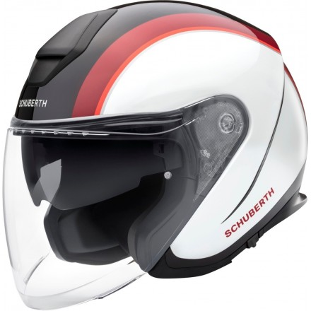 Schuberth casco jet M1 Pro - Outline Red