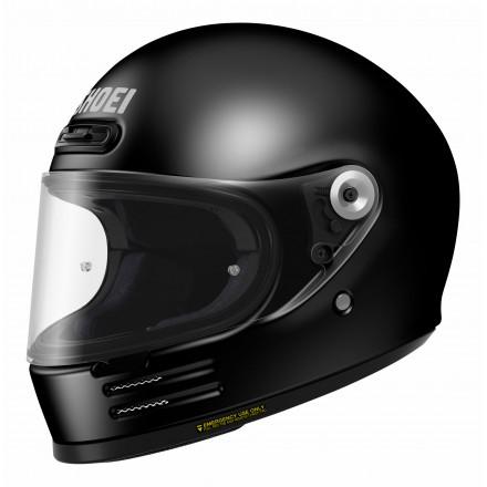 Shoei casco vintage integrale Glamster - Nero Lucido