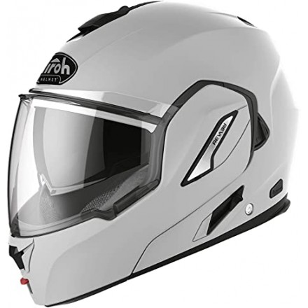 Airoh REV 19 Color flip up helmet - White Gloss