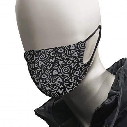 Tucano Urbano mascherina Rina 2 pezzi