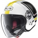 Nolan casco jet N21 Visor Flybridge - 65 Metal White