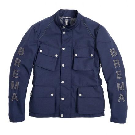 Brema man jacket Silver Vase GT H2Out J-M - 180 Navy blue