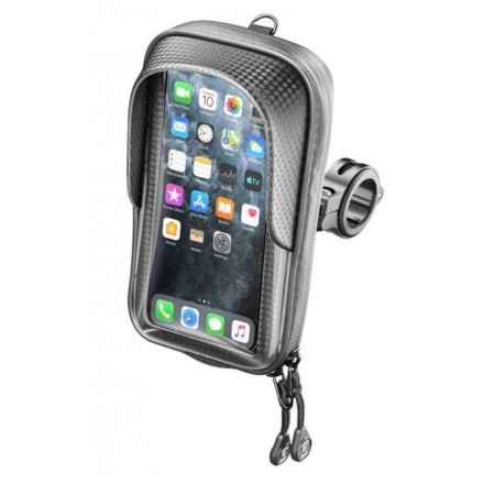 Cellularline Interphone universal handlebar phone holder for motorcycles and bicycles