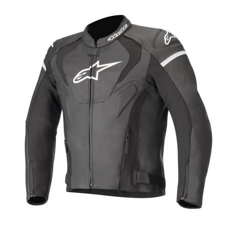 Alpinestars Jaws V3 leather jacket - 10 Black