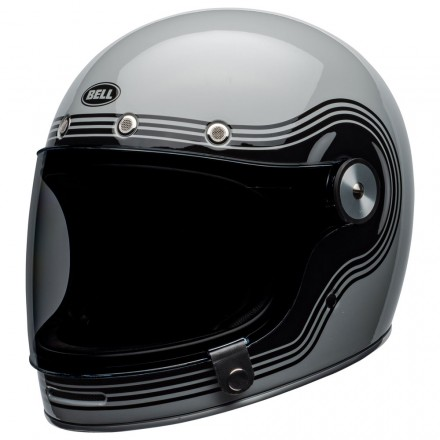 Bell casco vintage integrale Bullitt Flow - Grey Black