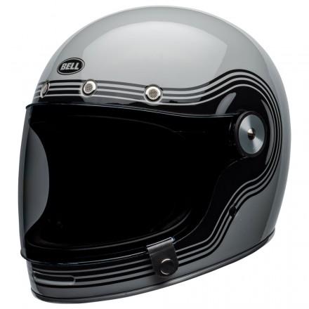 Bell casco vintage integrale Bullitt Flow - Grey Black