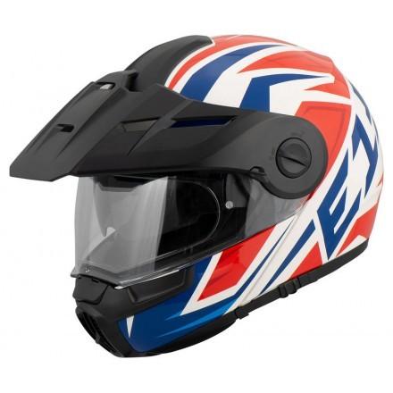 Schuberth E1 flip up helmet - Tuareg Red