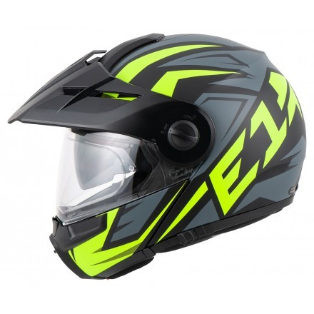 Schuberth E1 flip up helmet - Tuareg Yellow