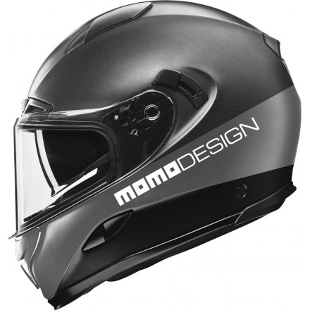 Momo Design casco integrale Hornet - Titanio Opaco