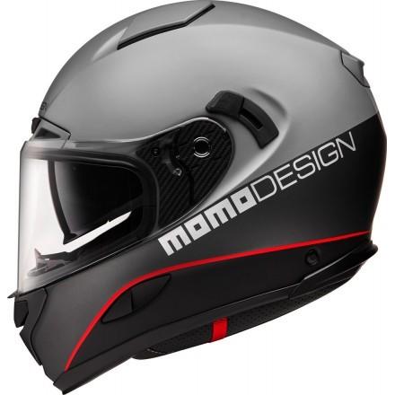 Momo Design casco integrale Hornet - Grigio Asfalto