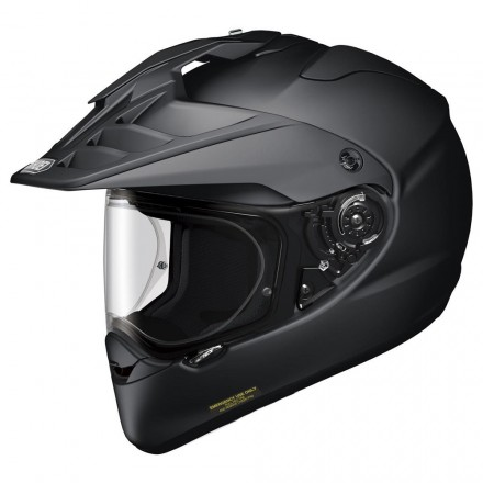Shoei casco motard Hornet ADV - Nero opaco