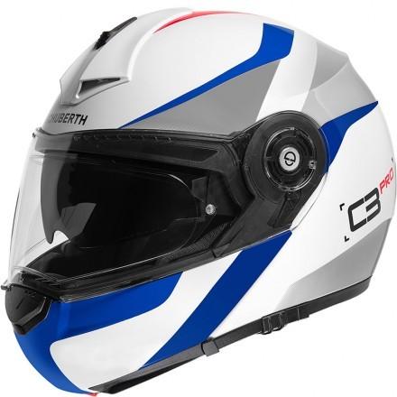 Schuberth casco modulare C3 Pro - Sestante Blue