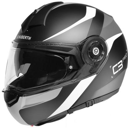 Schuberth casco modulare C3 Pro - Sestante Gray